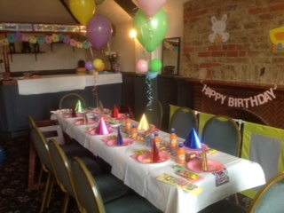 childrens birthday parties room to hire byfleet surrey